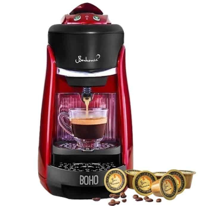 Bonhomia Boho Capsule Coffee Brewer Espresso Machine Review