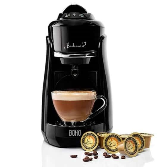 Bonhomia Boho Capsule Coffee Brewer Espresso Machine Review - Best Coffee Maker in India!