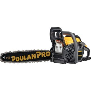 Poulan Pro 967061501 50cc 2 Stroke Gas Powered Chain Saw with Carrying Case Review