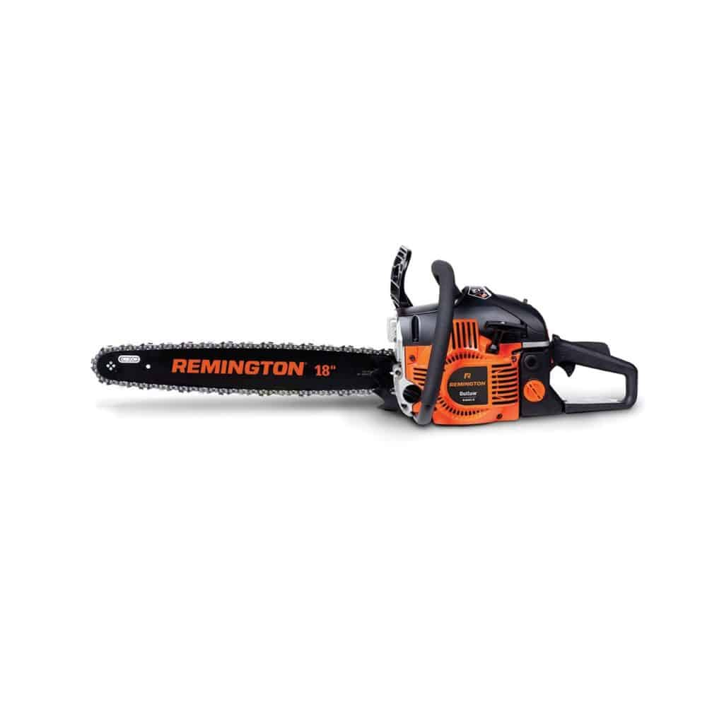 Remington RM4618 Outlaw 46cc 18-inch Gas Chainsaw Review