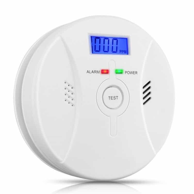 Generic CO Carbon Monoxide Detector Fire Security Alarm