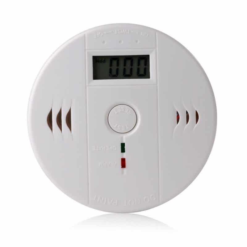 Patuoxun LCD CO Carbon Monoxide Poisoning Smoke Gas Alarm