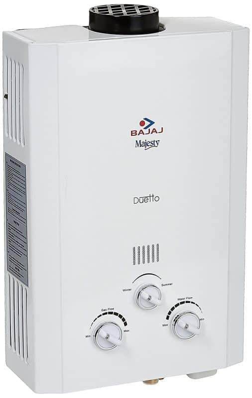 Bajaj Majesty Duetto LPG 6-Litre Water Heater Review 1