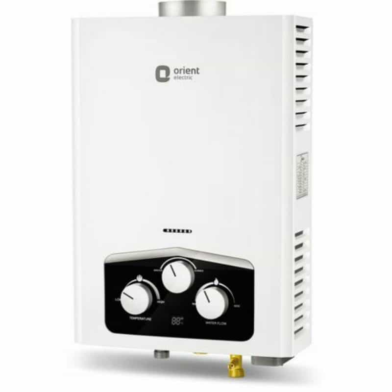 Orient Electric Vento Gas Water Heater Review 1