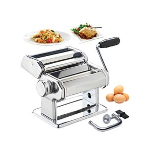 Generic Manual Pasta Machine Stainless Steel Pasta Maker Review
