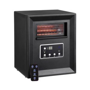 VonHaus 4 Element Portable Infrared Fan Heater Review