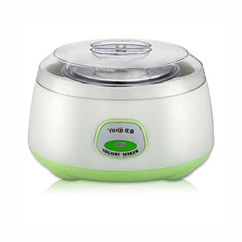 Generic Yoice Electric Automatic Fruit Yogurt Maker Review - One of the Best Yogurt Makers in India!