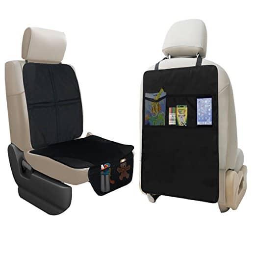 Lebogner Black 3-Pocket Durable Car Seat Protector Review