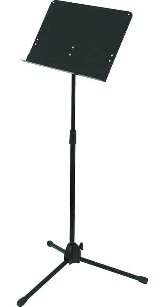 Musician's Gear Heavy-Duty Folding Music Stand Black Review