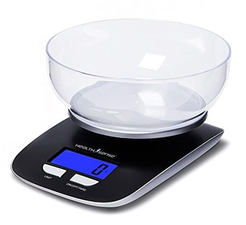 Health Sense Chef-Mate Digital Kitchen Scale-KS33