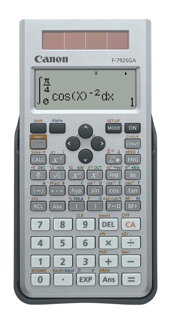 Canon F-792SGA Review - Best Scientific Calculators in India!