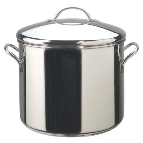 Farberware Classic Stainless Steel Covered Stockpot - Best Saucepans