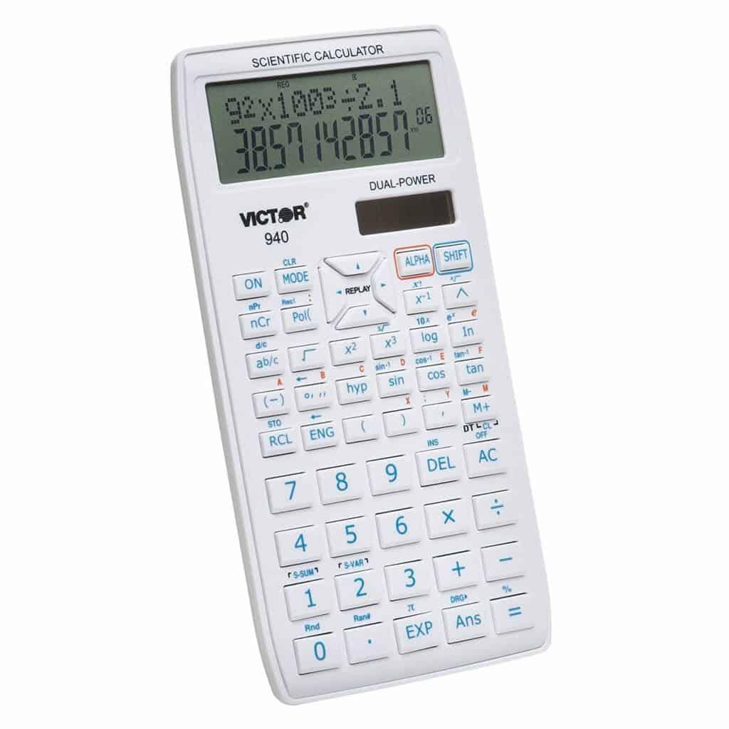 Victor 940 Advanced Scientific Calculator Review
