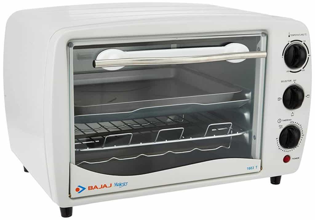 Bajaj Majesty 1603 T 16-Litre Oven Toaster Grill- Best Bajaj Oven Toaster Griller in India!