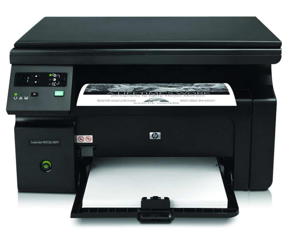 HP LaserJet Pro M1136 Review - Best Laser Printer in India!