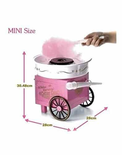 Krevia Hard & Sugar-Free Candy Cotton Candy Maker Review