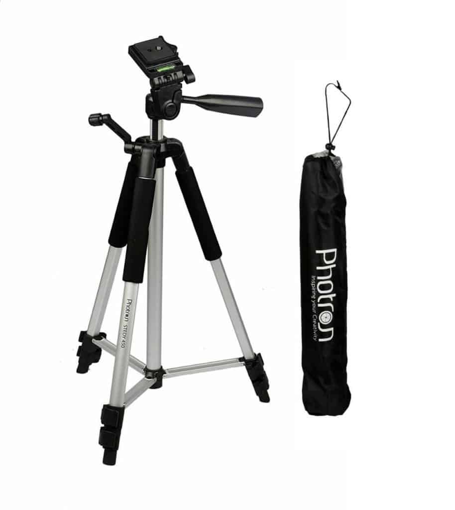 Photron Tripod Steady 450 Review - Best Tripods for Camera in India!