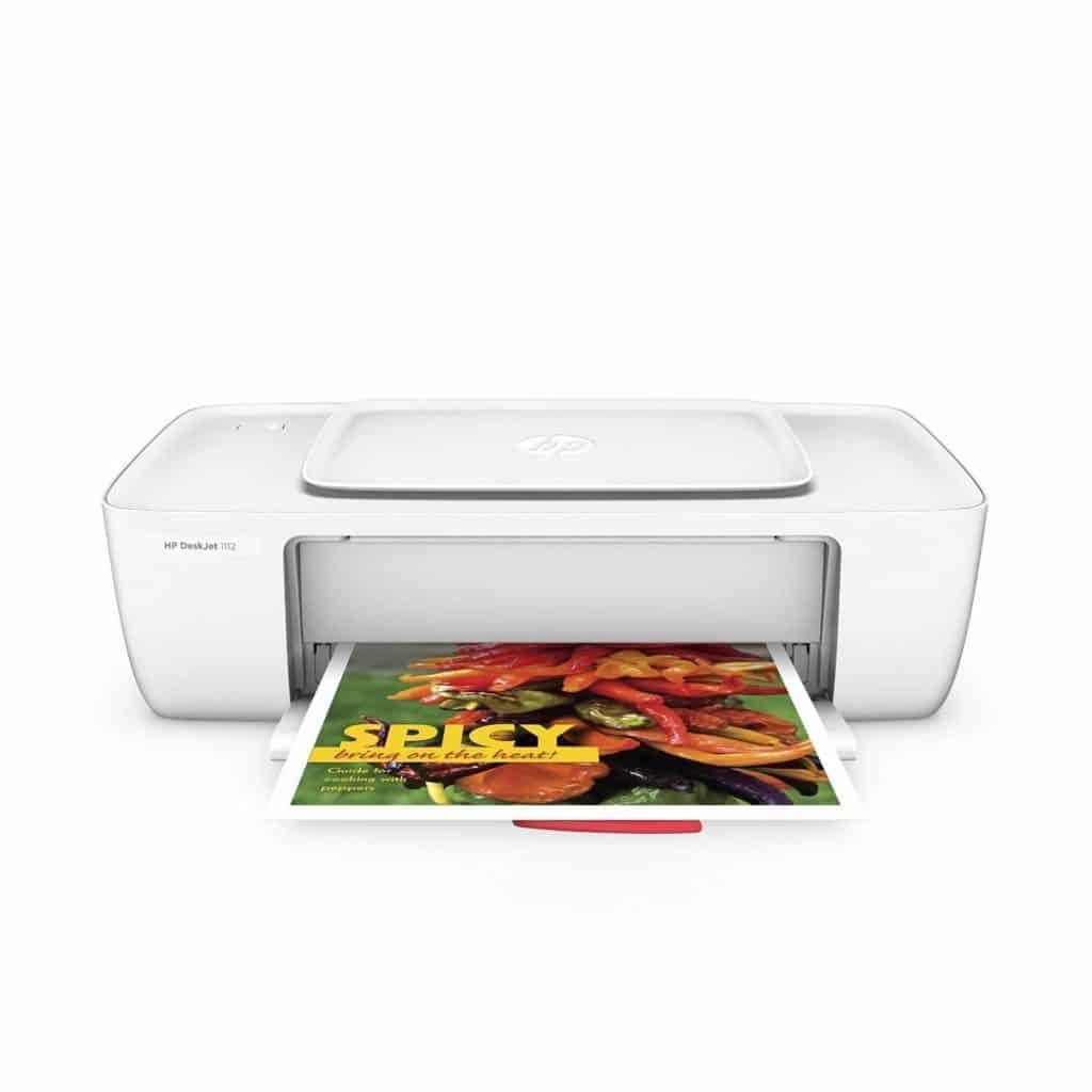 HP DeskJet 1112 Review - Best Inkjet Printer in India