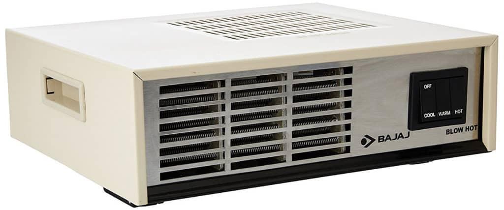 Bajaj Blow Hot 2000-Watt Room Heater Review