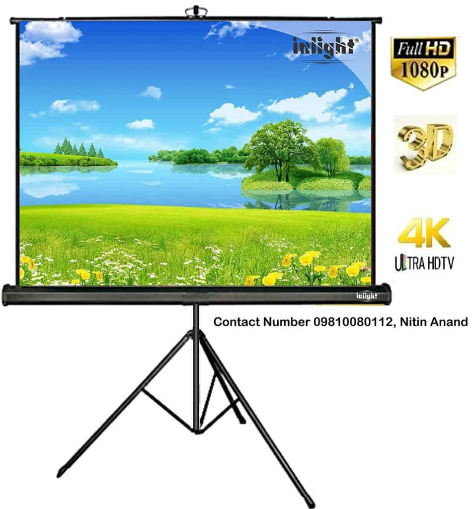 In light Cineview Series Tripod Type Projector Screen