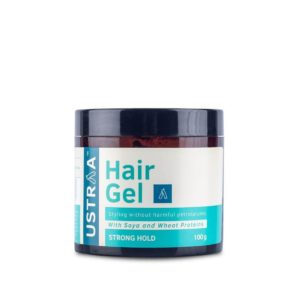 Ustraa Strong Hold Hair Gel Review - Best Men's Hair Gel in India!