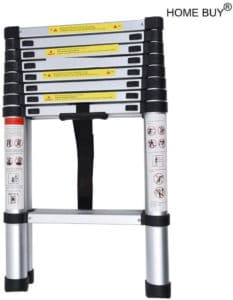 HOME BUY Aluminium Folding Step Ladder Review - Best Telescoping Ladder in India